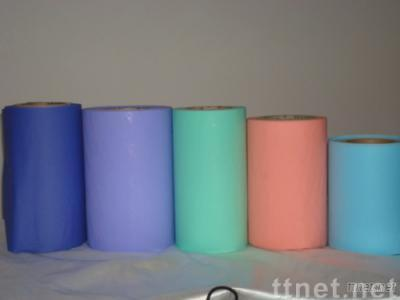 PE Color Film uses in pouch film of  sanitary napkin