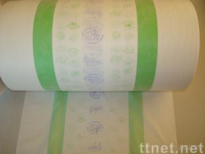 Zebra Lamination Breathable uses in back film of diaper
