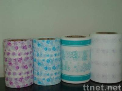 Single Color Printing Film for making diaper