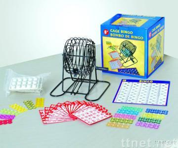 6 inches bingo set