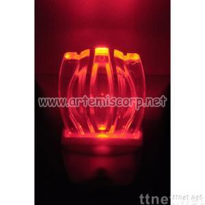 LED Night Light-Red Tulip