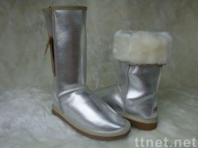 Australia Boot ugg 5812 women show boots made in china with R.made by sheepskin