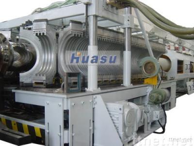 PE Pipe Making Machine-HDPE SBG-400 Double Wall Corrugated Pipe Extrusion Line
