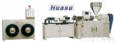 Pipe Making Machine-PE,PA,PVC,PP Single Wall Corrugated Pipe Extrusion Line