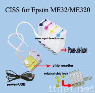CISS ( Continous Ink Supply System )