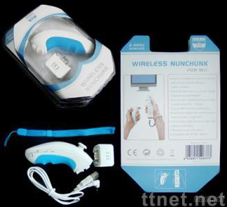 Joypads with Wireless Nunchunk, Wireless Reciever for Wii Video Game Accessories