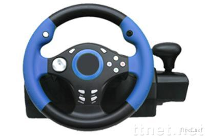 USB Steering Wheel for PS2 Video game accessories