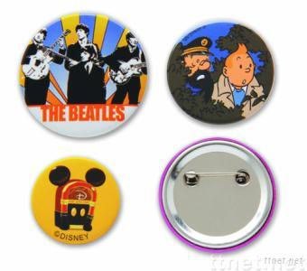 Celluloid Button Pin