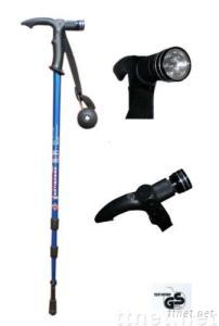 Trekking Poles With LED Lamp