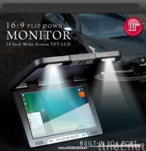 19 Inch TFT LCD Flipdown monitor