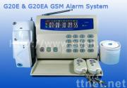 GSM wireless security home alarm with 120DB Siren speaker