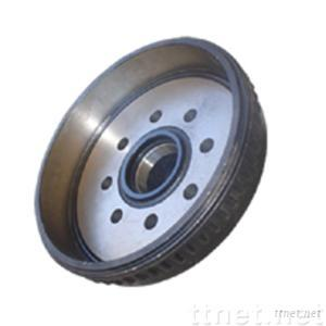Drums for trailer axle
