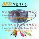 CCTV camera extension cable with video and power jack