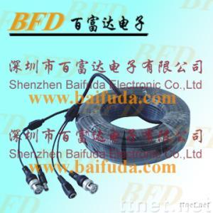 CCTV surveillance camera cable extension for house