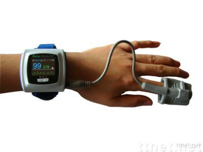 Color OLED Wrist Pulse Oximeter