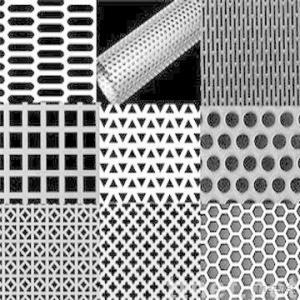 Perforated Metal Mesh