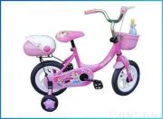 children bicycle pink