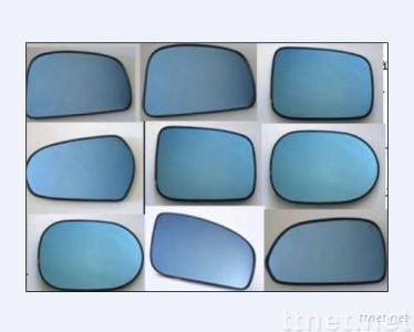 blue wing mirror glass