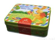 Rectangular tin box,tin cans--Pass FDA