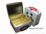 Tin lunch box,tin can,tin box