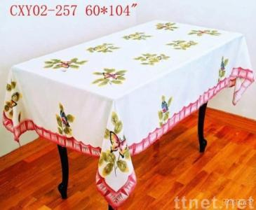 airbrush tablecloth 2.5usd/pc