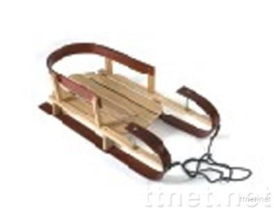 Wooden Snow Sleds