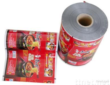 Instant noodle packaging film