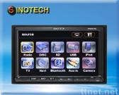 Double Din In Car DVD Player, Touch Screen Car Multimedia Player