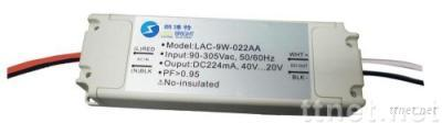 36W LED power supply for fluorescent lamps
