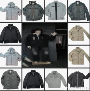 Men's Washed Cotton Jackets