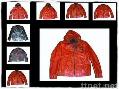 Men's PU Leather Jacket