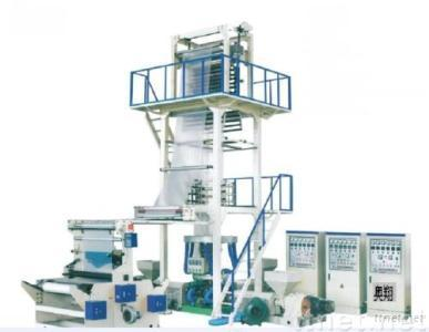 3 layer co-extrusion film machine