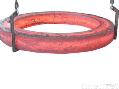 Rolled steel ring