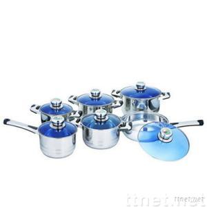 12 stainless steel cookware set