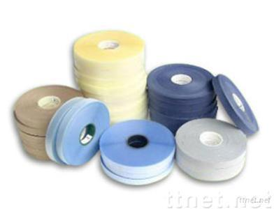 Tricot Seam Tapes, Waterproof Lining, Hot Melt Glue Film