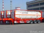 Container Fuel Tanker Trailer