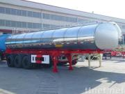 Chemical Liquid Tank Semi-Trailer (Stainless)