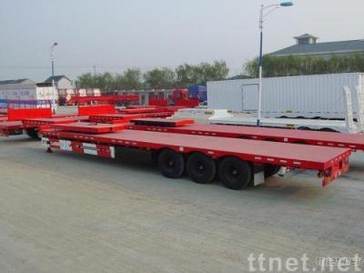 Semi-Trailer for Container, Heavy Machine and Fuel