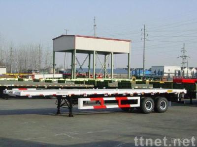 Three-Axle 40' Flatbed Semi-Trailer