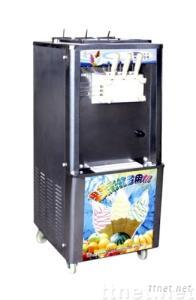 Floor type jam soft ice cream machine