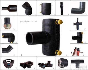 Electrofusion fittings pe pipe fittings for gas