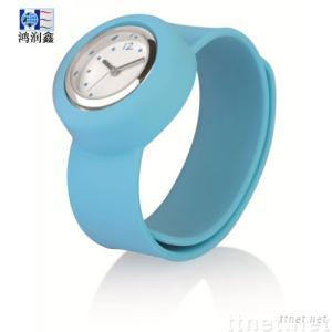 Silicone Slap on Watch