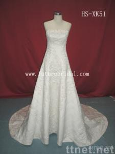 Wedding dress (HS-XK51)