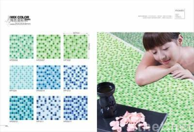 Glass Mosaic Tiles(Crystal Mixed Color)