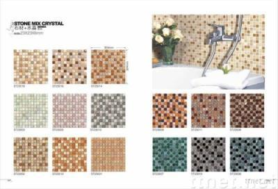 Glass Mosaic Tiles (Stone Mixed Crystal) Part 3
