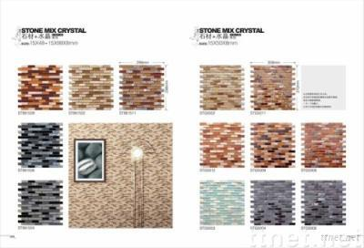 Glass Mosaic Tiles (Stone Mixed Crystal) Part 4