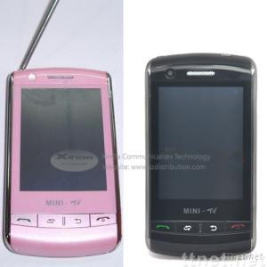 N007 mobile phone, N007 cellphone with tv,java,dual sim,quad-band,mini 9500