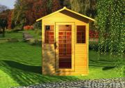 OUT DOOR Infrared sauna room for 1-3 person