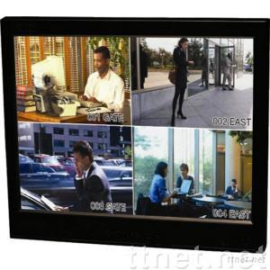 15inch Industrial CCTV LCD Monitor