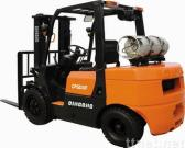 3 Tons LPG & Gasoline Powered Forklifts